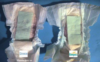 Тестирование одноразовых подгузников