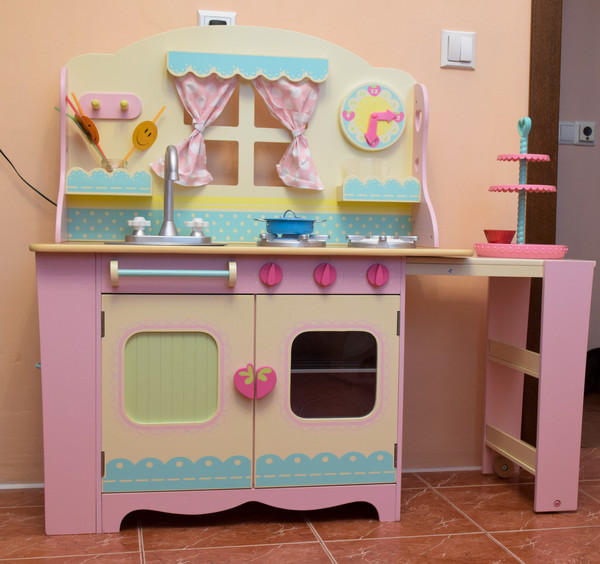 Детская деревянная кухня и аксессуары ELC, Главный клуб
