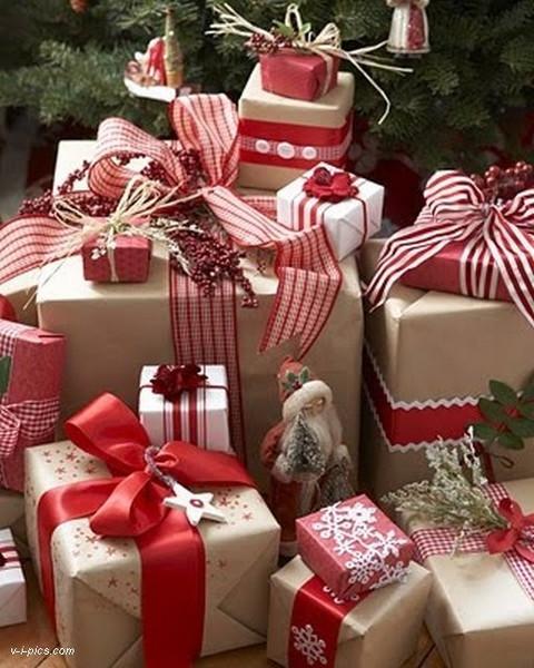 Новогодняя подарочная упаковка 18