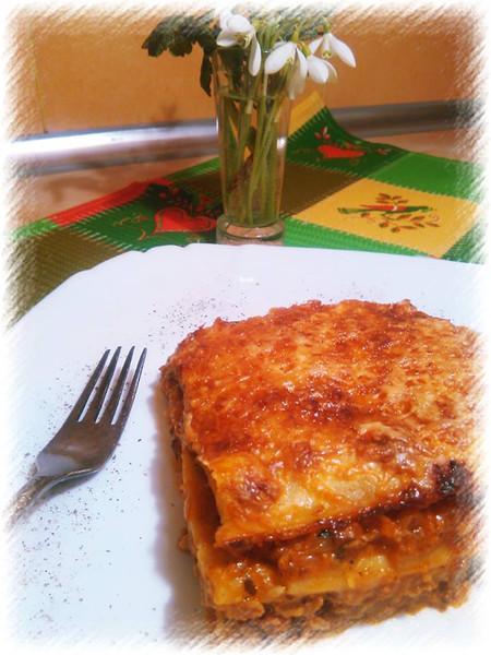 лазанья болоньезе рецепт с готовыми листами