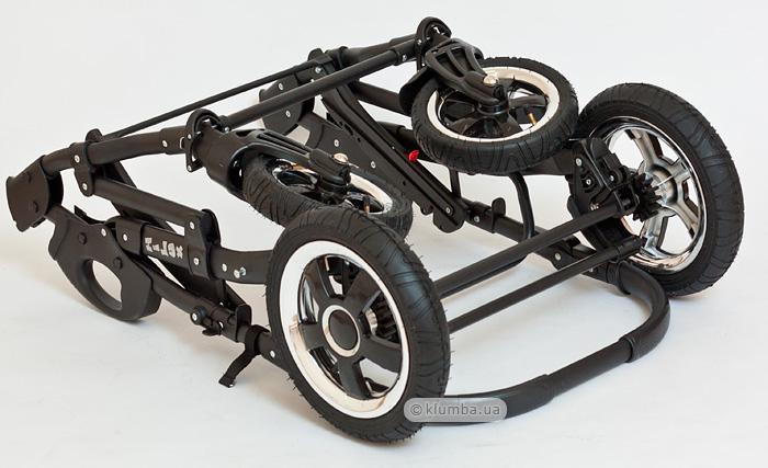 Если снять колеса коляска