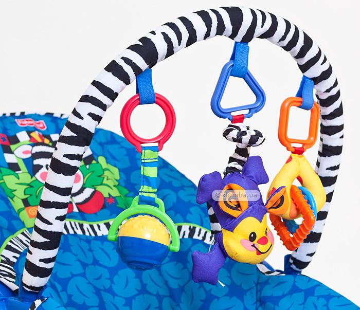 Дуга с игрушками кресла-качелей Fisher Price   Занимательное обучение