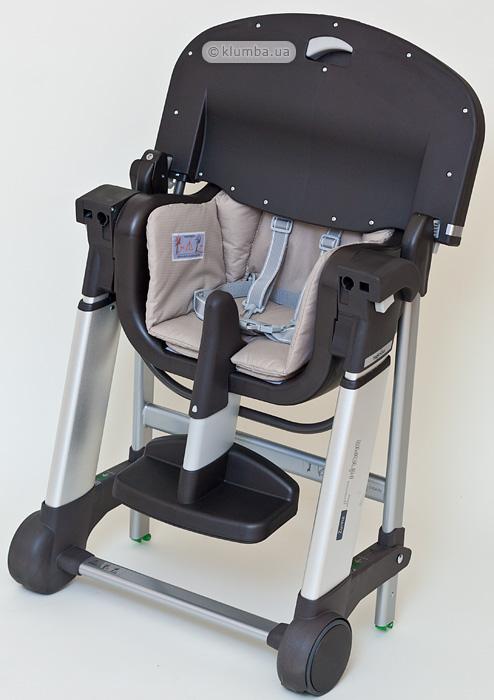 Сложенный стульчик для кормления Inglesina Zuma