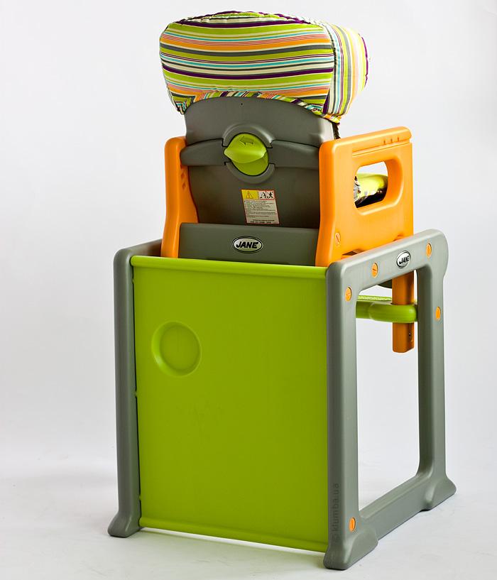 обзор детского стульчика для кормления Jane Active Evo жане клумба